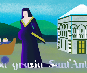Too much grace, Saint Anthony! (Italian way of saying)