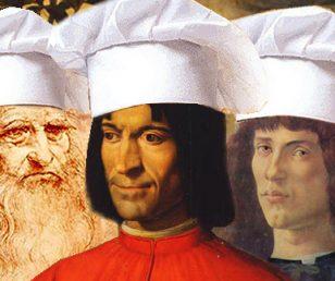 Lorenzo e Leonardo, che buongustai!