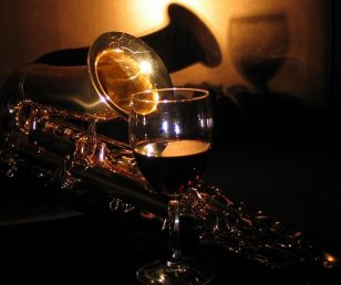 Music in a glass of wine